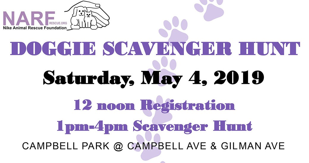 Doggie Scavenger Hunt Comes to Campbell